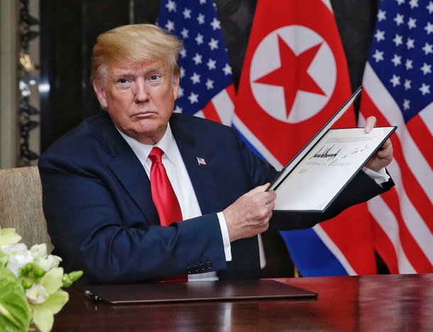 Стал известен текст договора Трампа и Ким Чен Ына