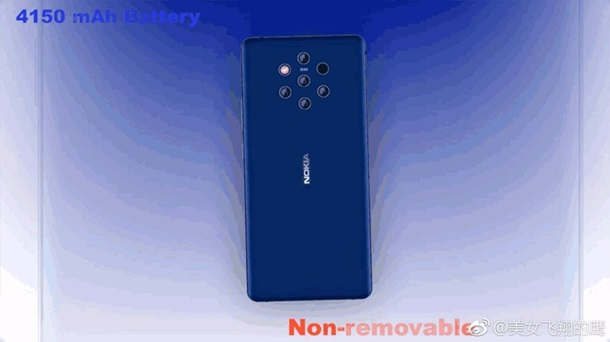 Фото рассекретили дизайн флагмана Nokia 9