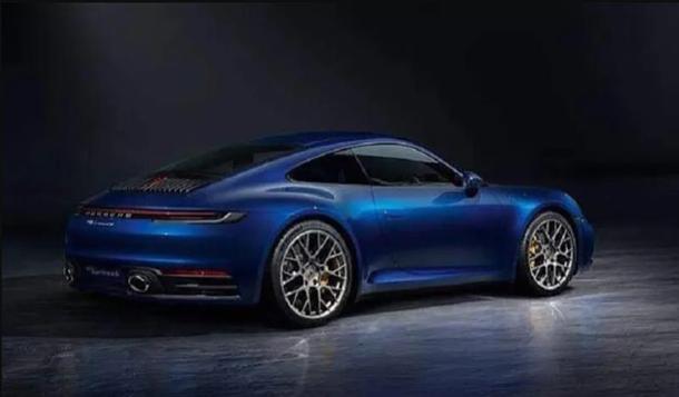 Новый Porsche 911 показали на официальных фото