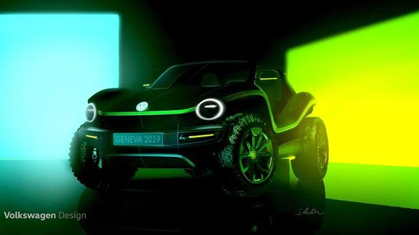 Volkswagen показав зовнішність електробаггі