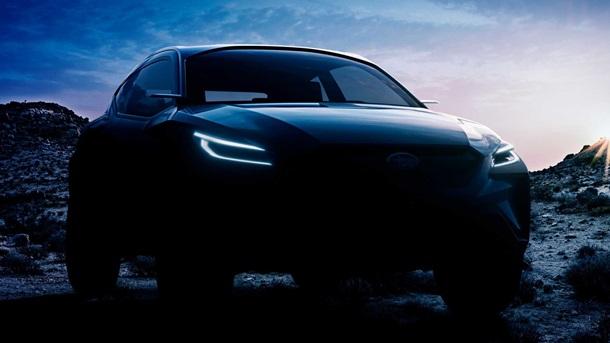 Субару  представит концептуальный автомобиль  Viziv Adrenaline вЖеневе