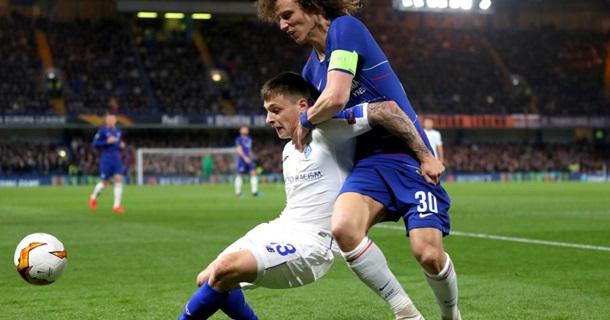 Динамо - Челси 0-5. Онлайн матча Лиги Европы
