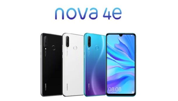 Huawei представила бюджетний смартфон Nova 4e