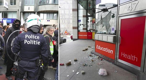 """В Брюсселе """"желтые жилеты"""" устроили погром"""