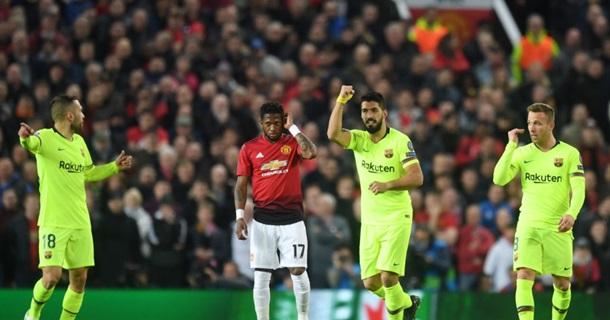 Барселона - Манчестер Юнайтед. Онлайн матча Лиги Чемпионов
