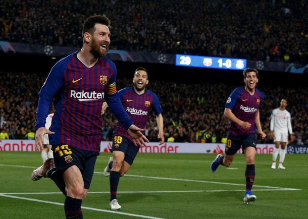 Барселона - Ливерпуль 3:0. Онлайн матча
