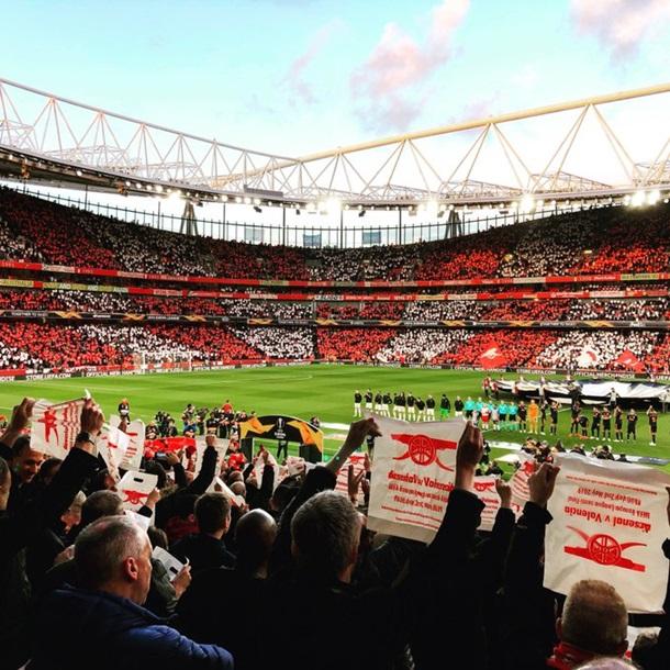 Арсенал - Валенсия 2:1. Онлайн матча Лиги Европы