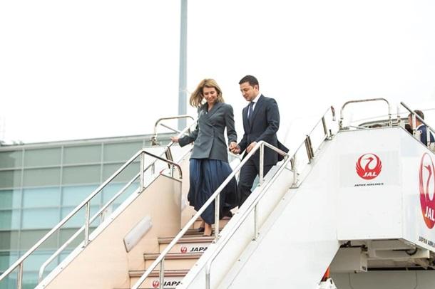 Зеленский прибыл с официальным визитом в Японию