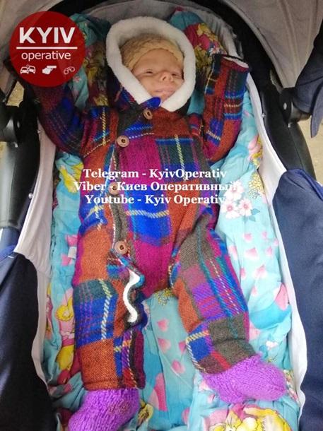 Под Киевом похитили младенца
