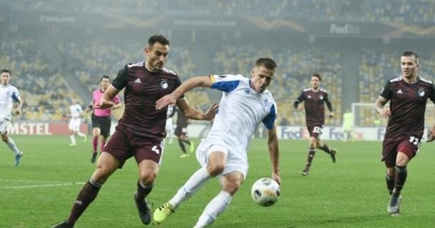 Копенгаген - Динамо 1:1. Онлайн матчу Ліги Європи