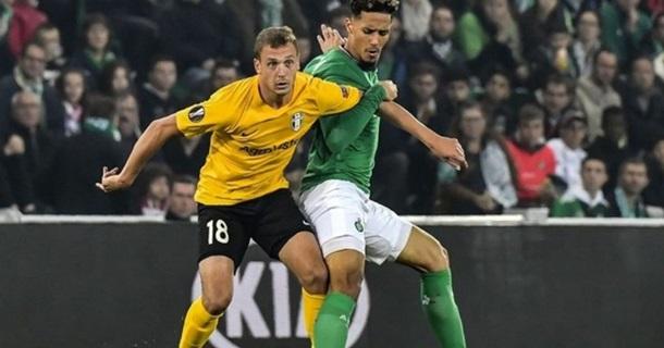 Олександрія - Сент-Етьєн 0:1. Онлайн матчу ЛЄ