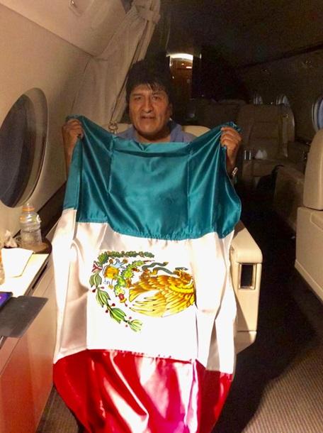 Екс-президент Болівії Моралес вилетів до Мексики