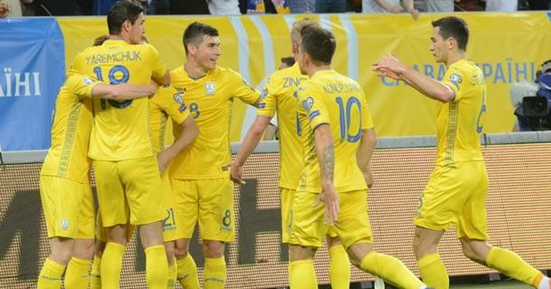 Украина - Эстония 1:0. Онлайн-трансляция матчаСюжет