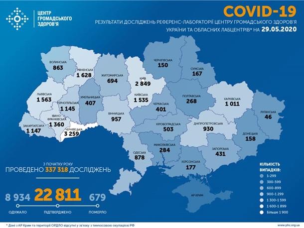 Коронавирус в Украине. Последние новости онлайн