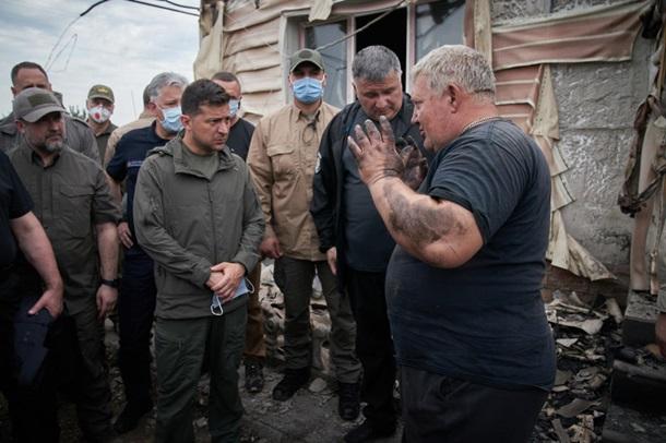 В масштабных лесных пожарах на Луганщине погибло пять человек. Видео