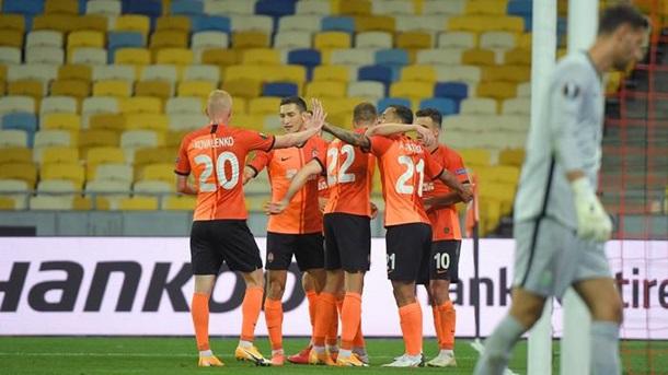 Шахтар - Базель 4:1. Онлайн матчу Ліги Європи