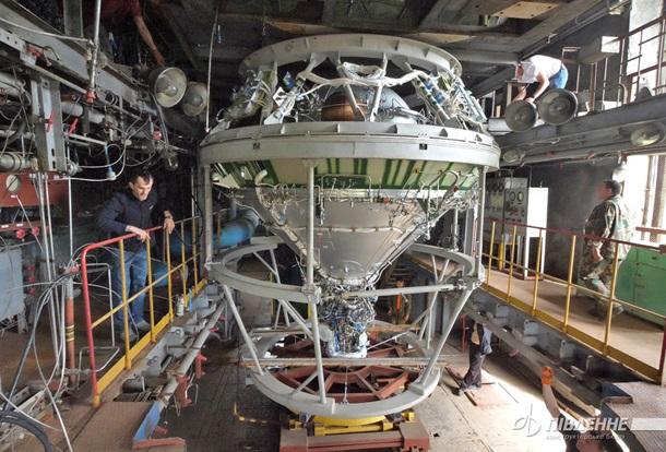Завершені випробування реактивної системи верхнього ступеня ракети Циклон-4