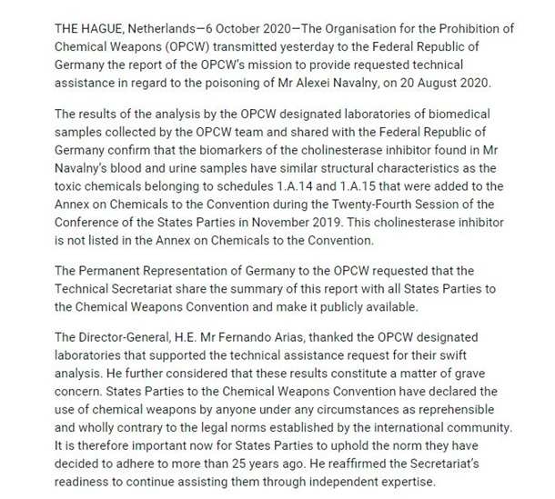 Скріншот звіту ОЗХЗ