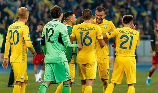 Украина - Германия 1:2. Онлайн матча Лиги наций