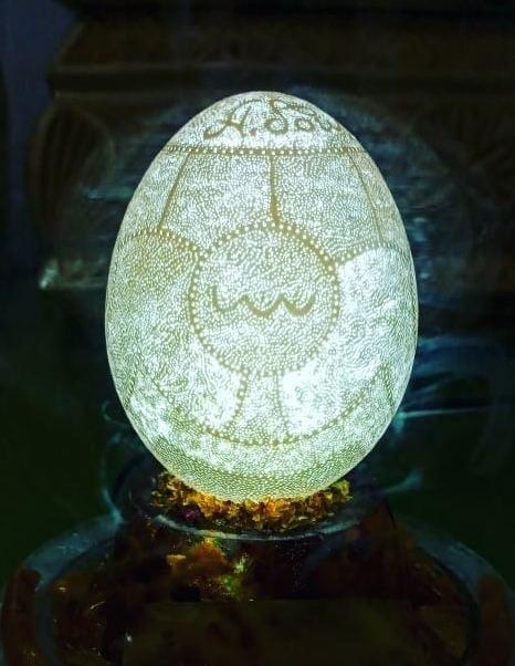 Украинец установил два мировых рекорда используя яйца1
