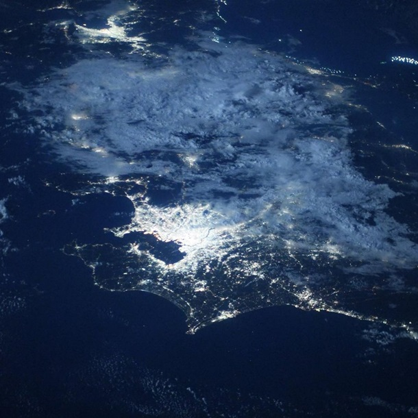 В NASA показали олимпийский Токио из космоса (фото)
