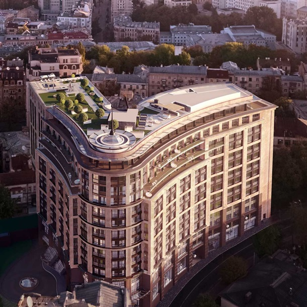 Дизайнер интерьеров королевской семьи Великобритании создала дом Linden Luxury Residences в Киеве