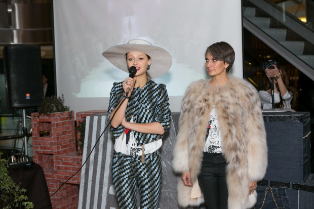 5afb56e757780f Дар'я Шаповалова і Маша Цуканова/Фото надане прес-службою Mercedes-Benz  Kiev Fashion Days