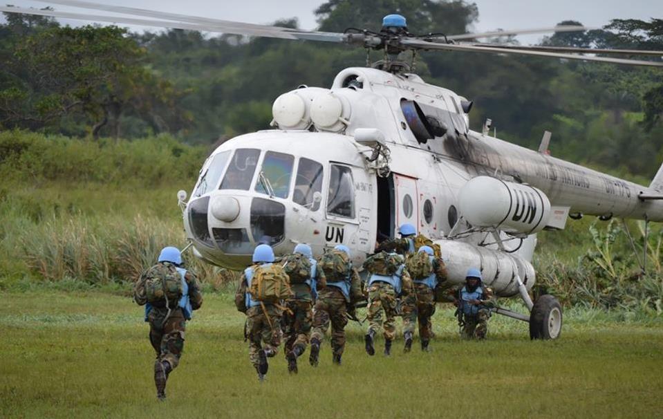 Украинские миротворцы завершили миссию в Либерии — Korrespondent.net