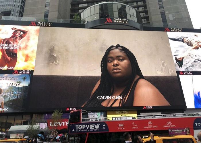 Полная рэперша в рекламе Calvin Klein разозлила Сеть