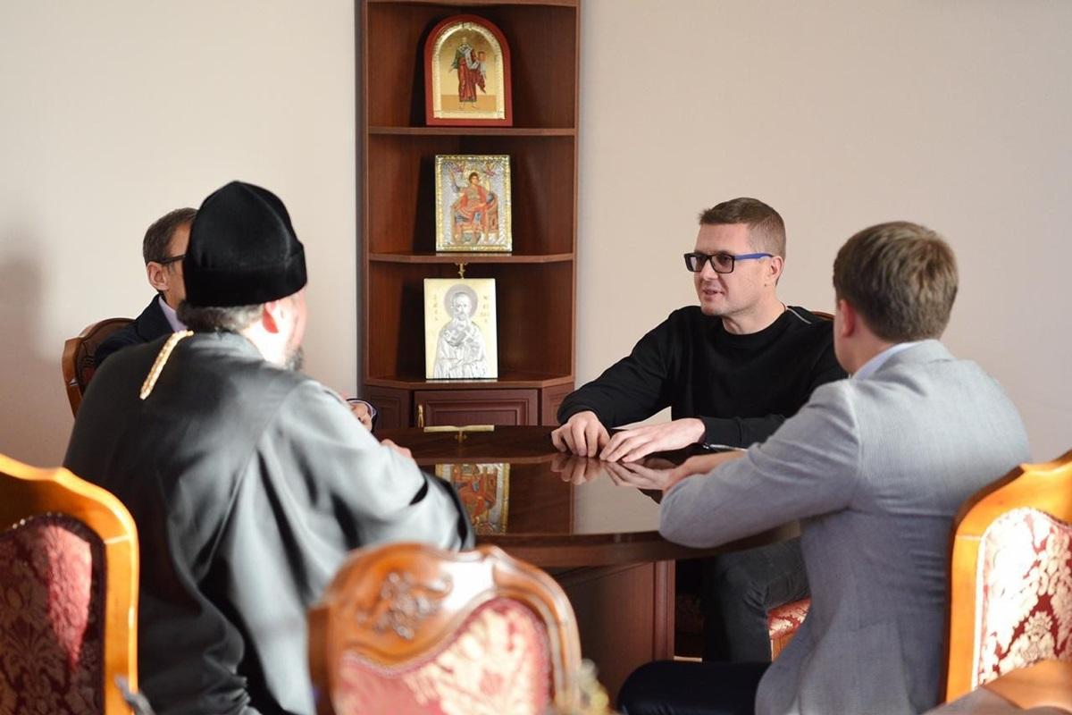 Епифаний и Баканов обсудили ряд актуальных вопросов