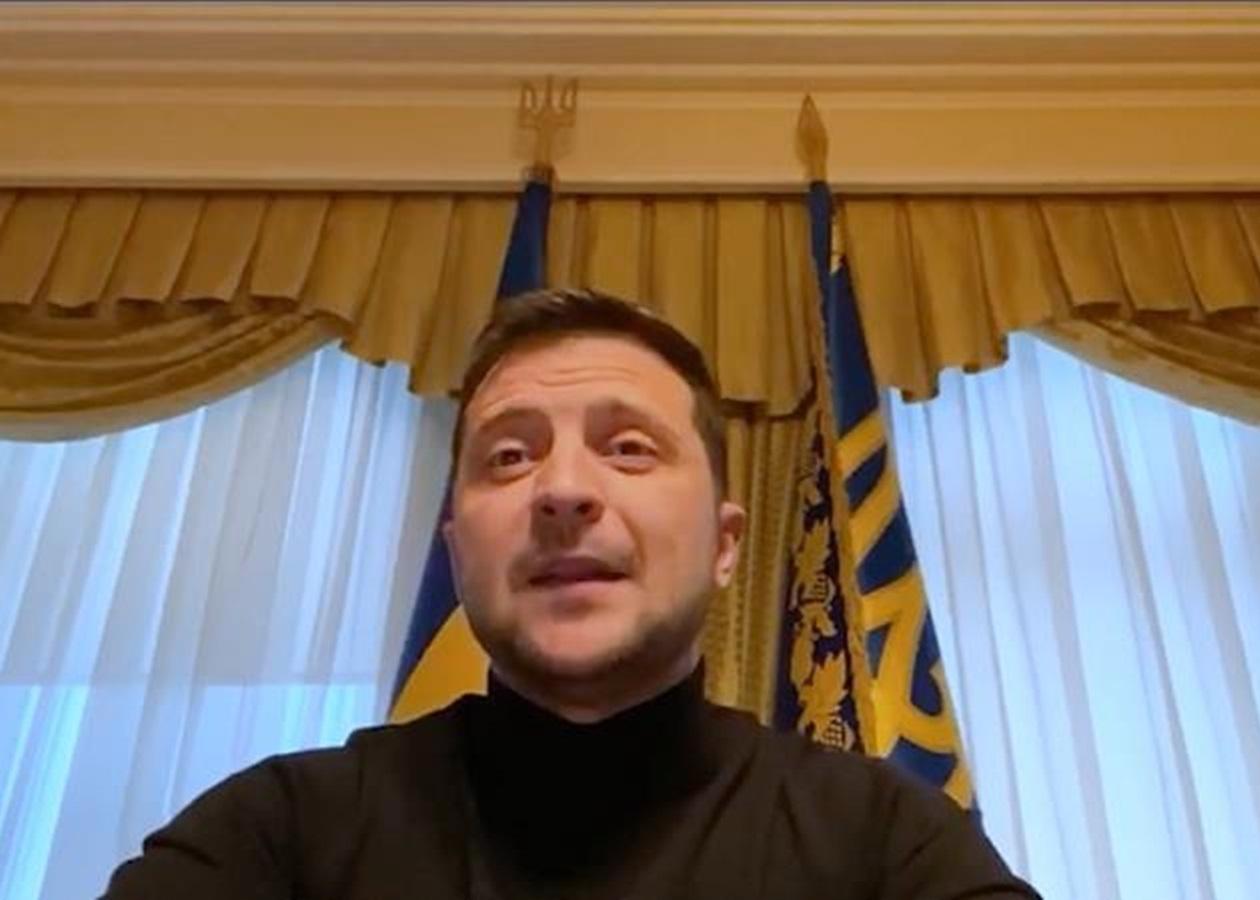 Зеленский обнародовал второе видео из Феофании - Korrespondent.net