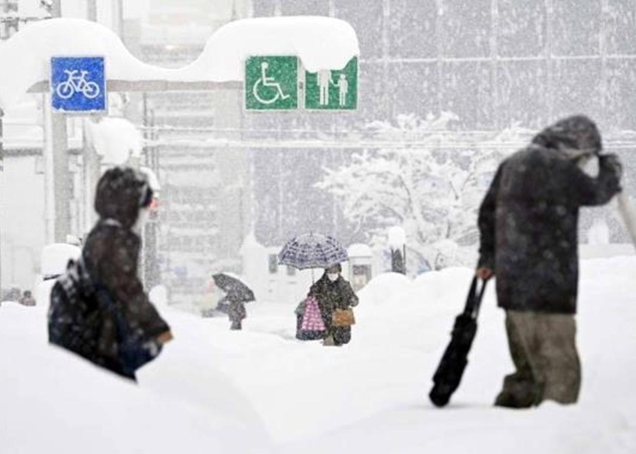 В Японии в результате снегопада пострадали 76 человек - Korrespondent.net