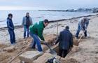 У Криму на пляжі знайшли давню могилу