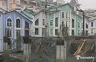 В Киеве обвалилось перекрытие на стройплощадке