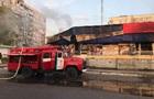 В Запорожской области произошел пожар в торговом центре