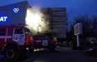 В Киеве потушили пожар в строительном магазине