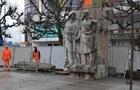 В Польше разобрали Памятник благодарности советской армии