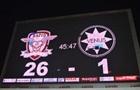 Румынский клуб отправил 26 голов в ворота соперника