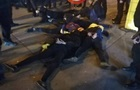 В Киеве представители Нацкорпуса громили ларьки с игровыми автоматами