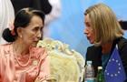 У ЄС сподіваються, що біженці-рохінджа зможуть повернутися до М янми