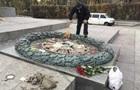 В РФ возмутились, что в Киеве залили цементом Вечный огонь