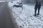 У Тернопільській області сталася аварія через ожеледицю