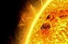 На Солнце появился гигантский протуберанец