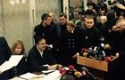 Тимошенко пришла в суд поддержать Саакашвили