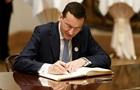 Новий польський прем єр сформував уряд