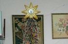 В Одеській області зібрали рекордну новорічну ялинку з кольорових олівців