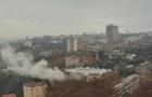 У центрі Києва горять склади