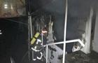 У Хмельницькому сталася пожежа на речовому ринку
