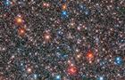 Hubble сфотографував  космічну гірлянду  із зірок