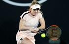 Два украинских матча попали в список  сочных  в третьем дне на Australian Open
